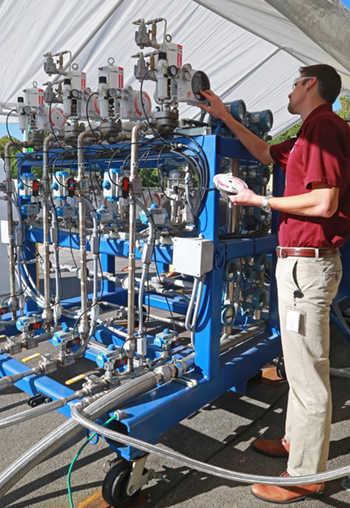fuel mixing facility