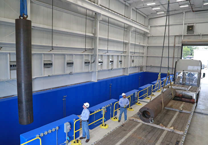 high-pressure high-temperature facility