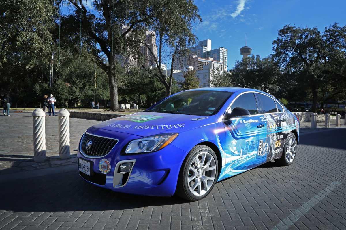 DEGR Demo Vehicle in Downtown San Antonio