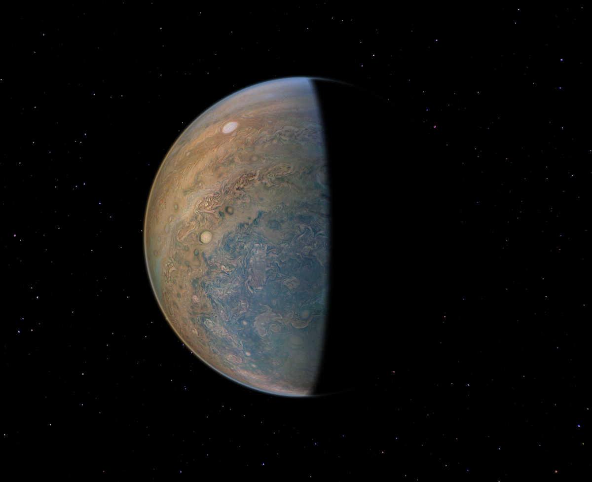 Image: JunoCam image of Jupiter