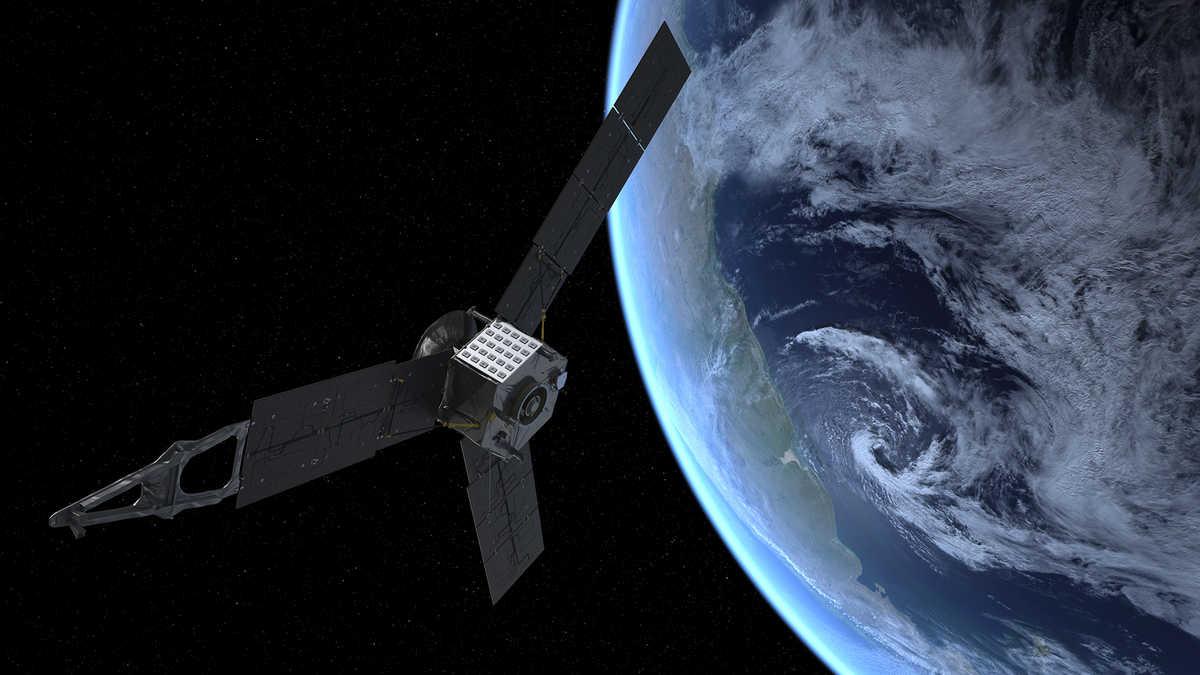 Artist rendering of Juno spacecraft