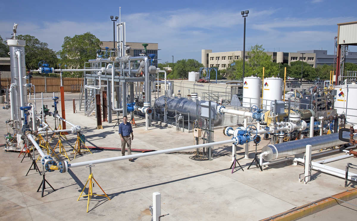 Photo: SwRI's Multiphase Flow facility