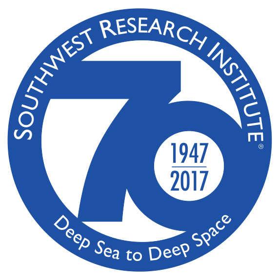 SwRI 70th Anniversary logo