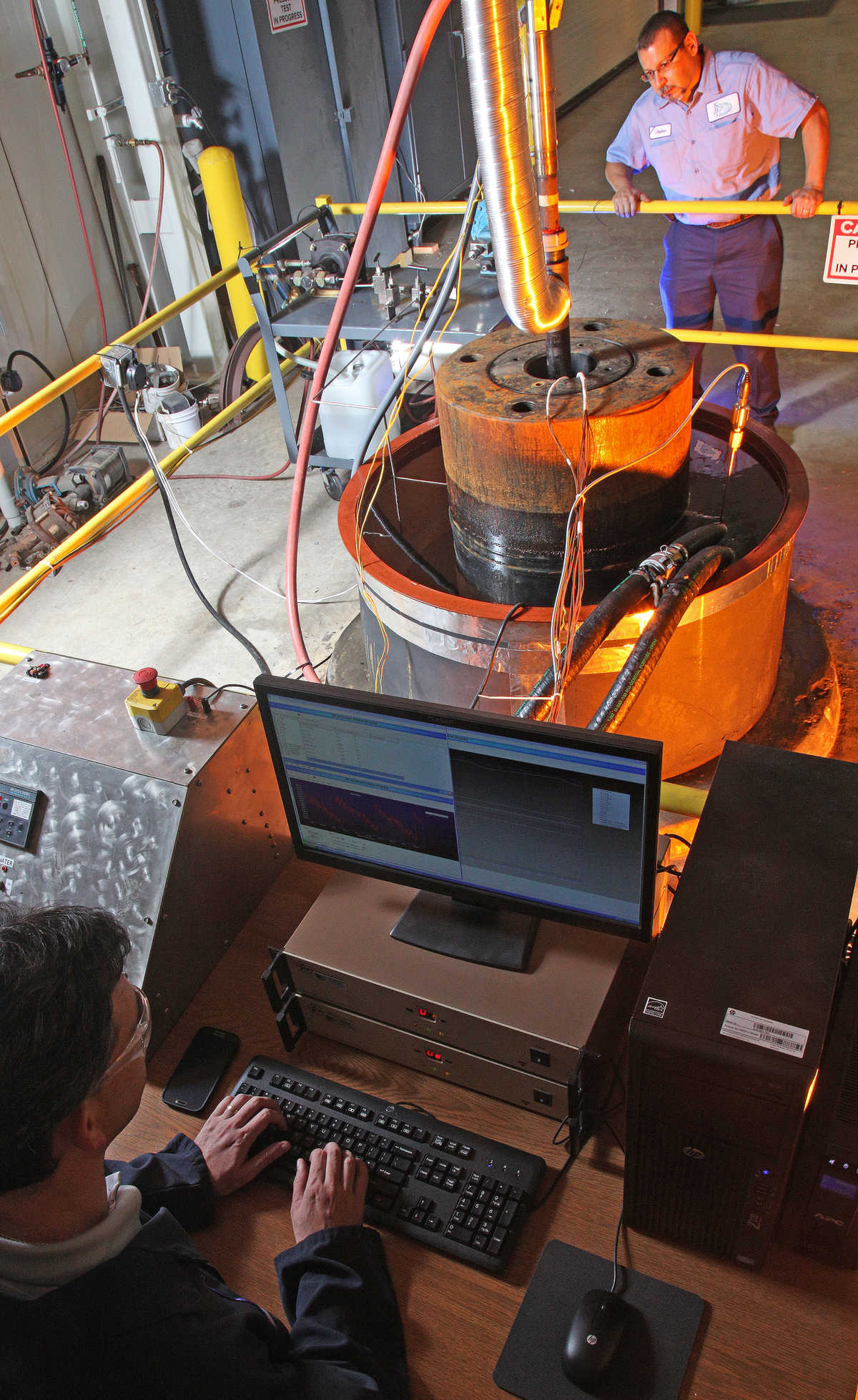 SwRI has added five, 13-inch-diameter chambers in its Ocean Simulation Laboratory for deep water simulation testing.