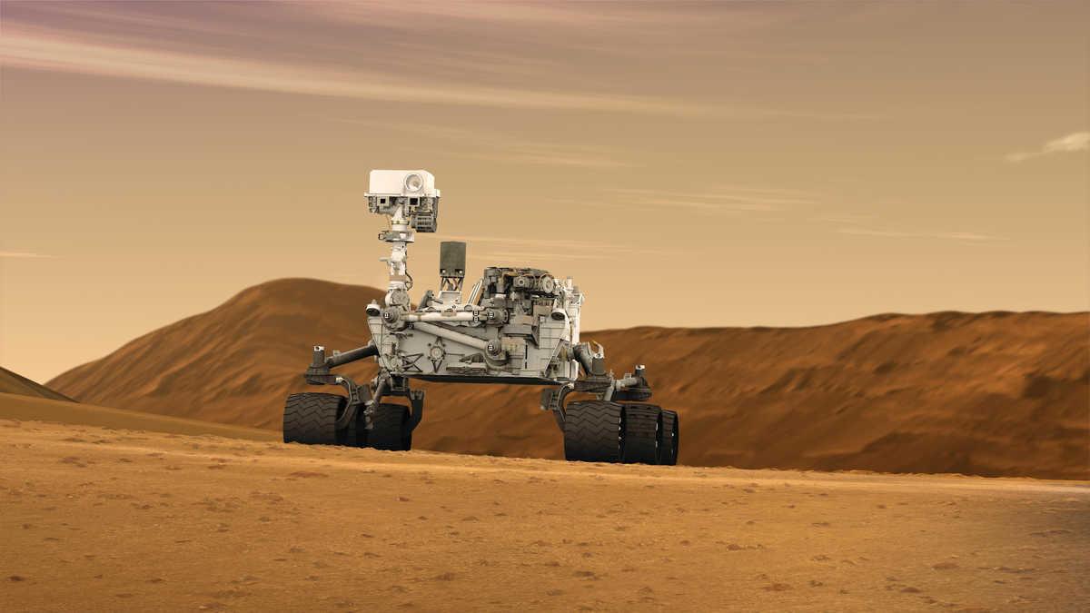 On August 6, Curiosity, NASA's car-sized rove