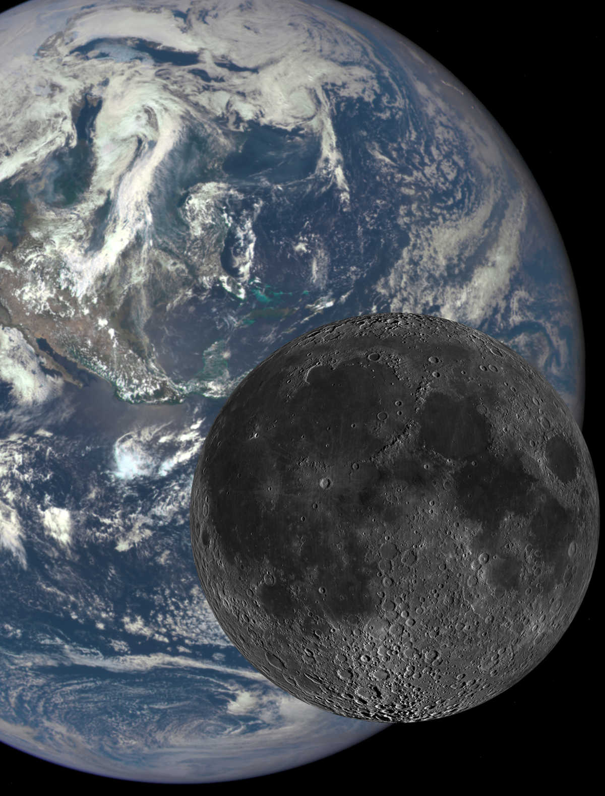 Moon formation models to explain key differences between the composition of lunar rocks and the Earth's.