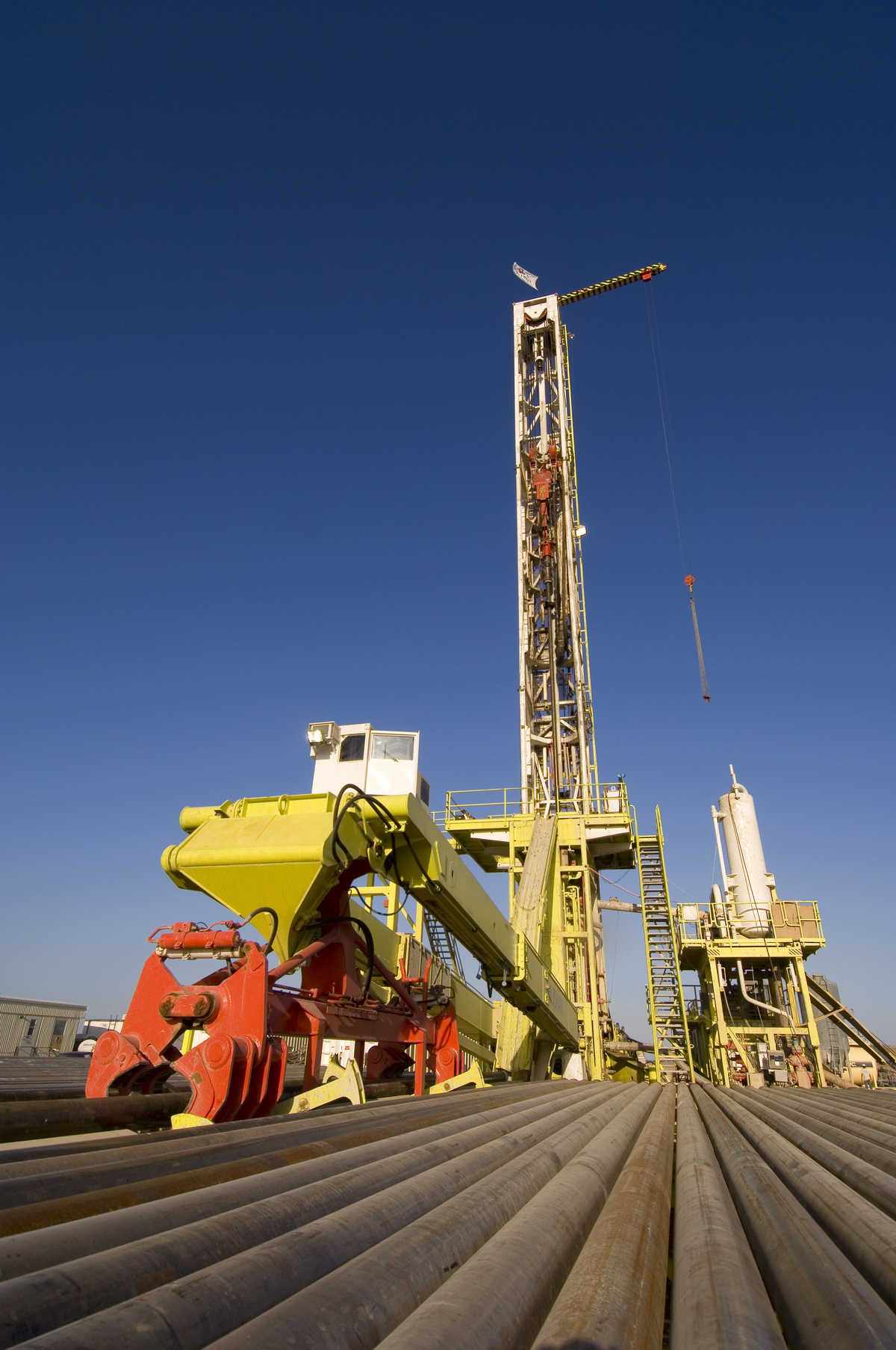 large oil drilling rig