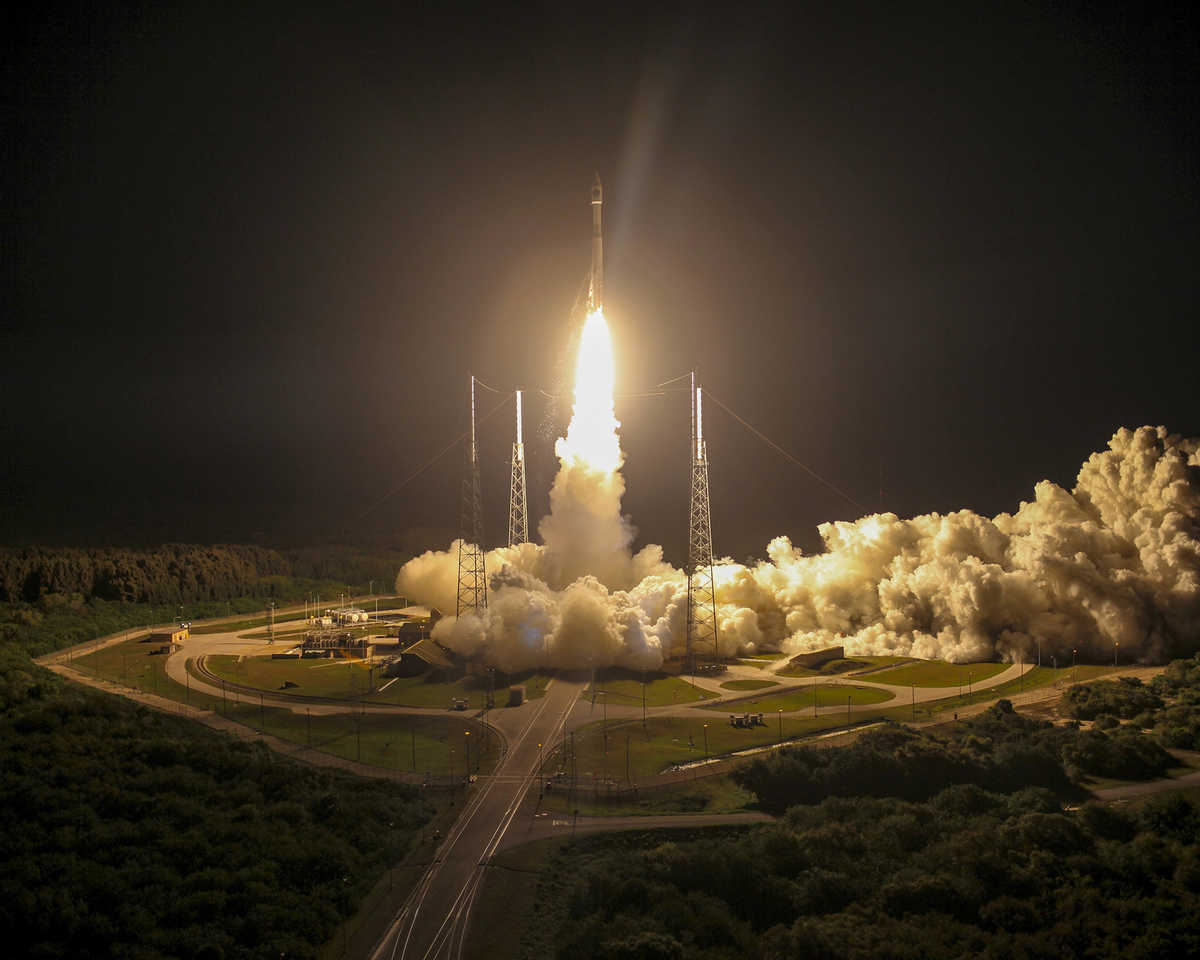 MMS launch from Cape Canaveral