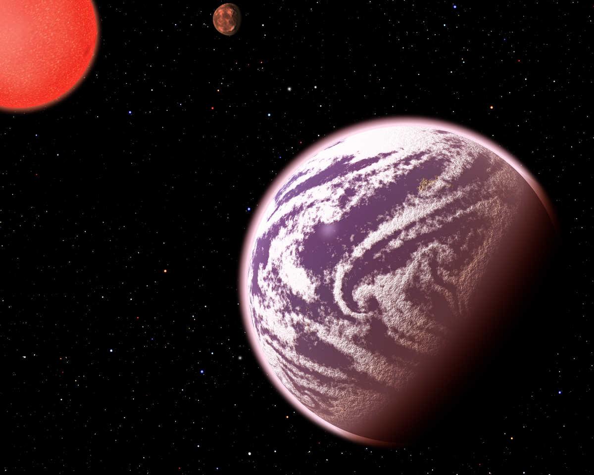 Graphic: artist's conception of KOI-314c