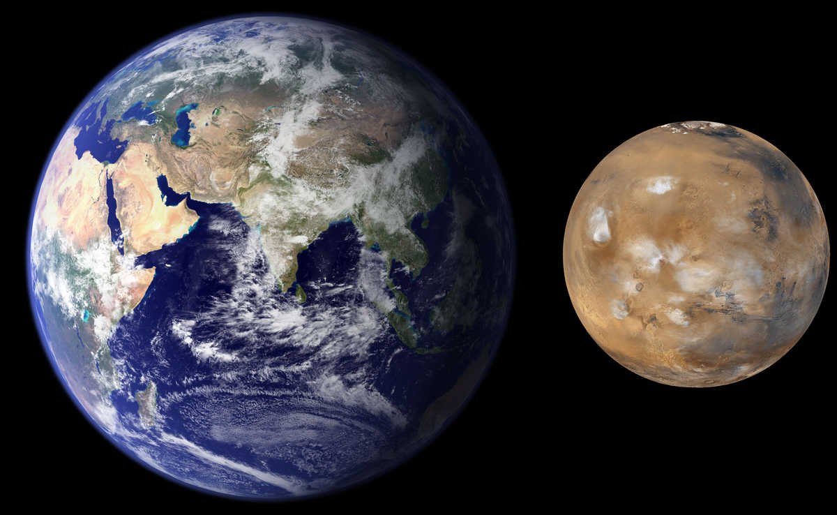 Southwest Research Institute scientists developed a new process in planetary formation modeling that explains the size and mass difference between the Earth and Mars.