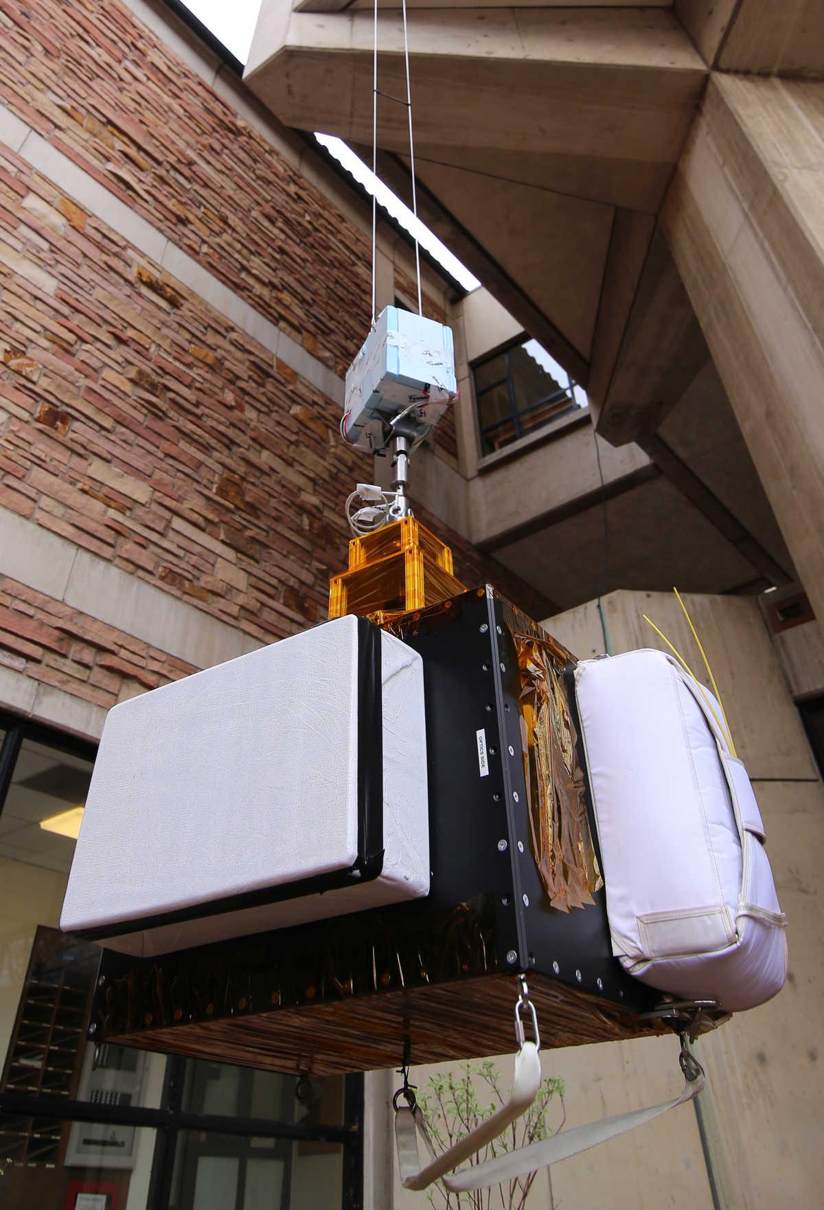 Image: SwRI Solar Instrument Pointing Platform (SSIPP)