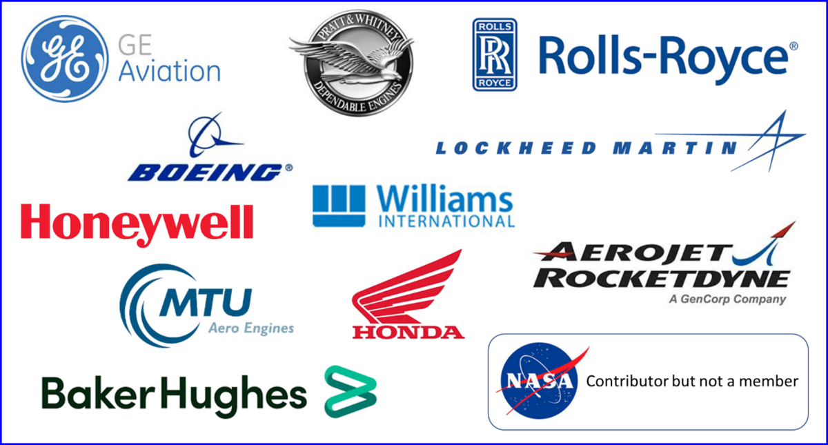 Company logos for NPSS consortium members