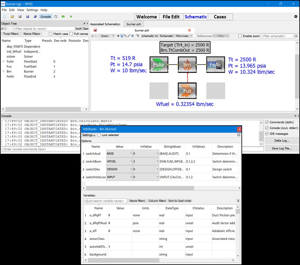 NPS IDE Screenshots