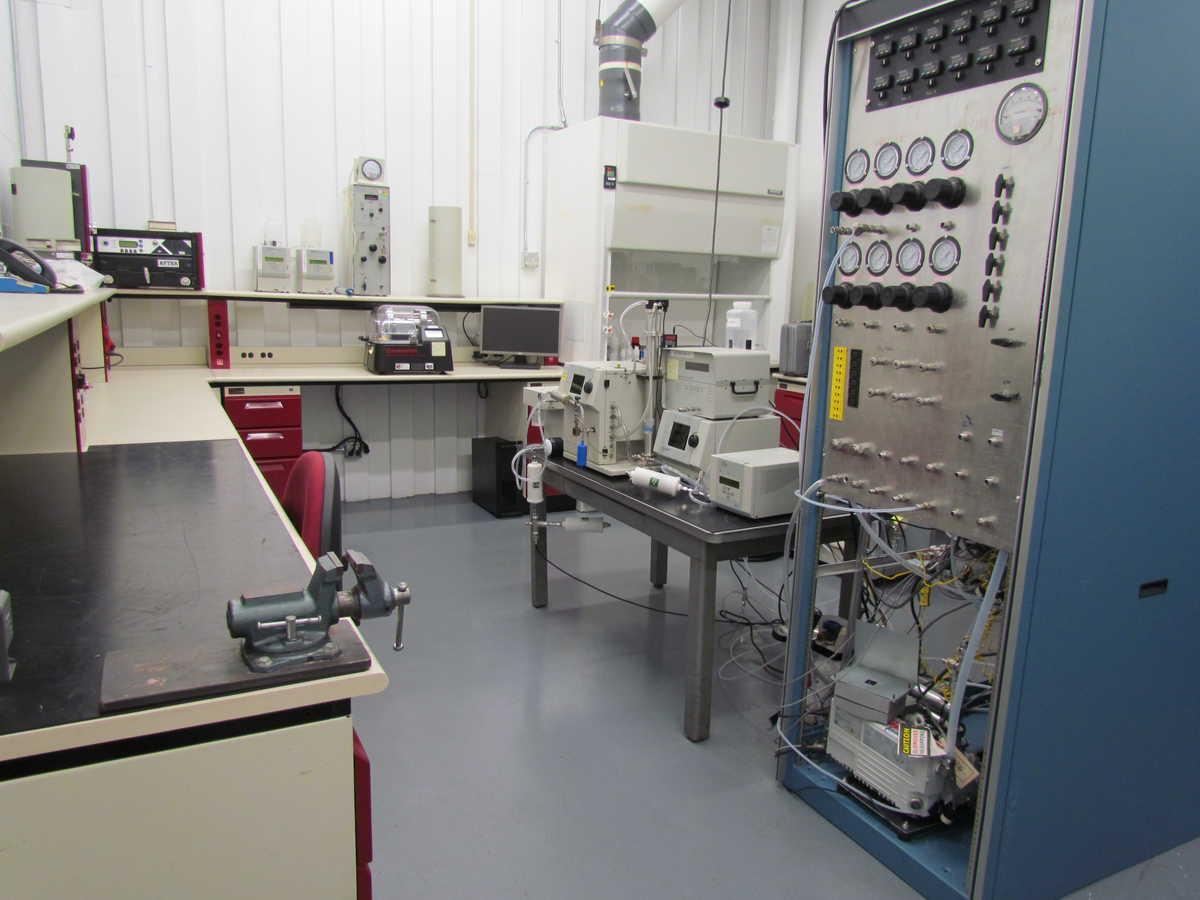 SwRI's empty particle emissions laboratory