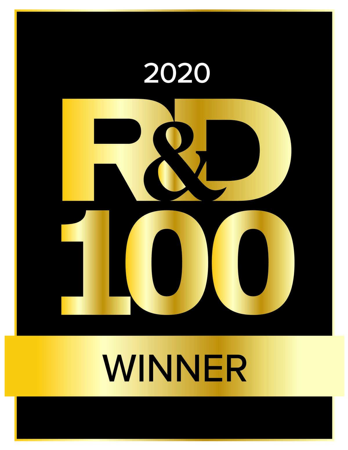 R&D 100 2020 Winner logo