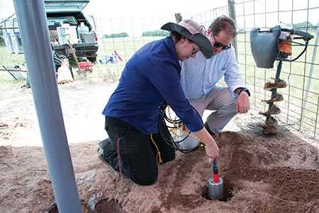 A seismometer was installed close to a wastewater disposal site to provide high-quality data relating to earthquakes in that area