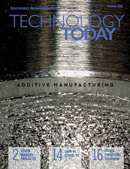 Cover of the Technology Today Spring 2020 issue