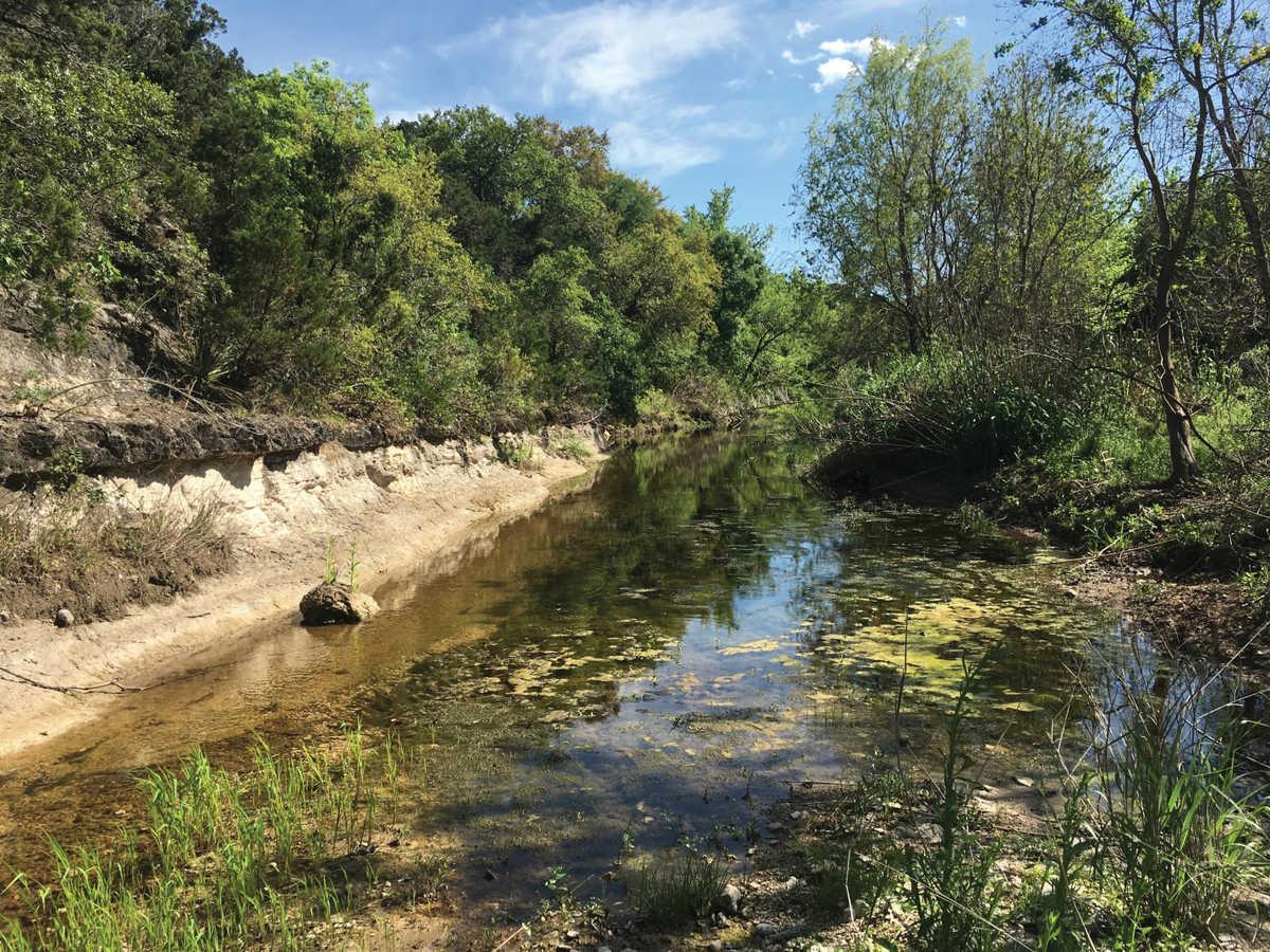 Helotes Creek watershed