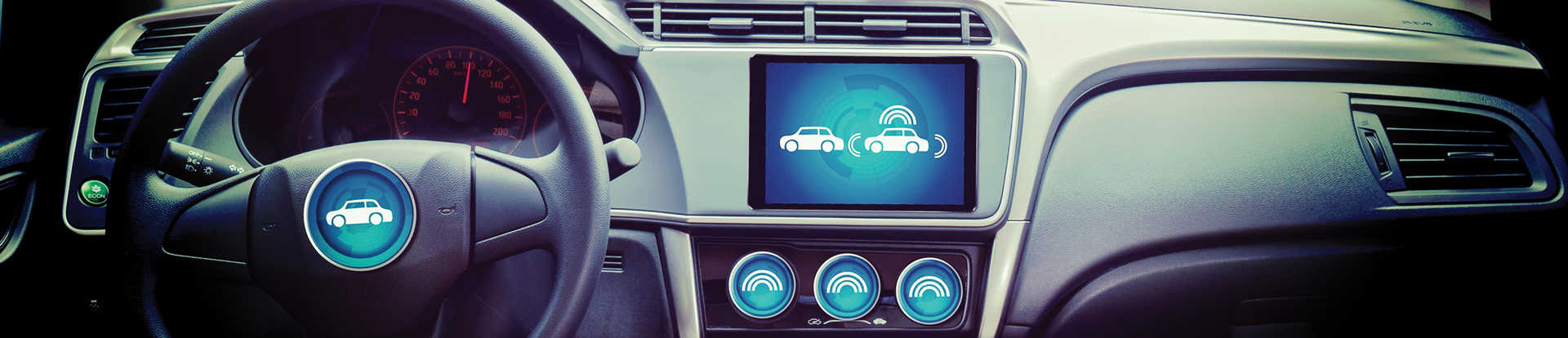 Dashboard with automated driving systems