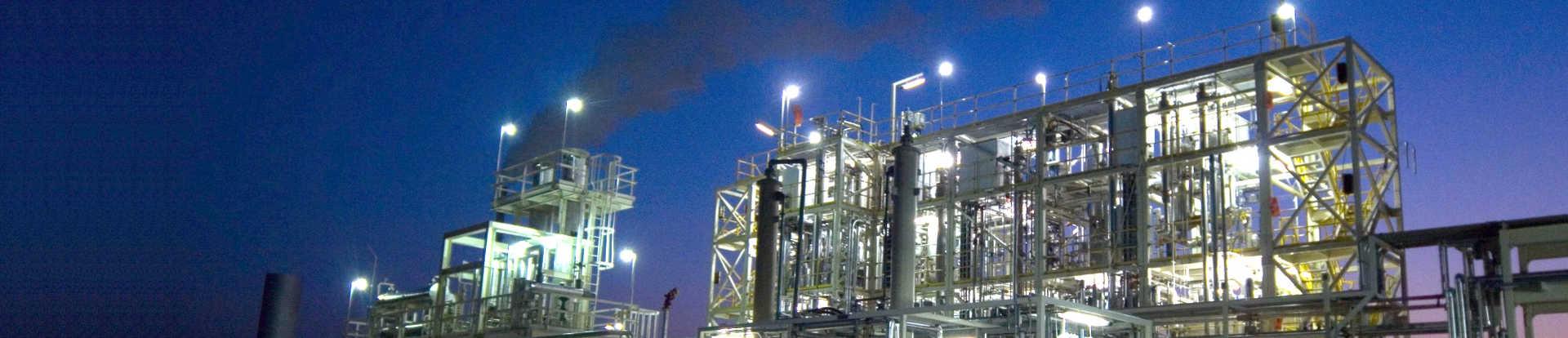 Large-scale pilot plant.