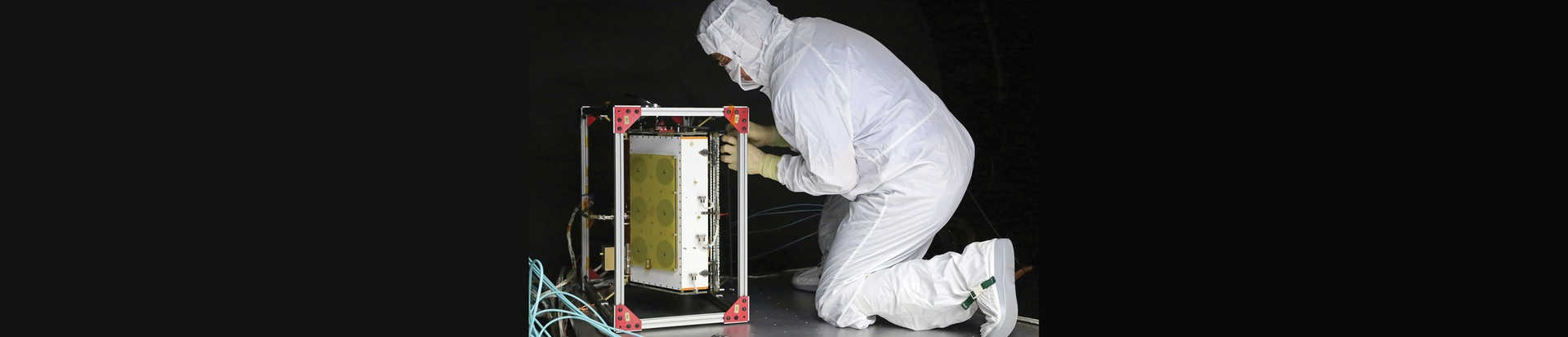 Preparing CYGNSS microsatellite for testing