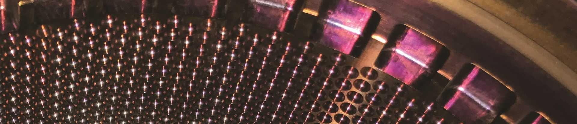 Supercritical carbon dioxide turbine up close