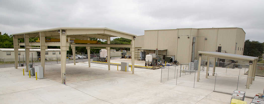new outdoor flow component test facility
