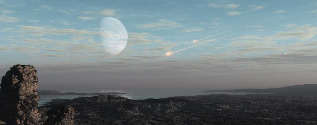 Press Release-SwRI-led team produces a new Earth bombardment model