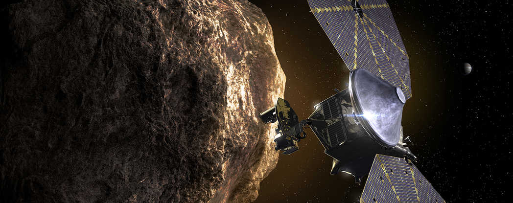 Alt (Action/links): Press Release-NASA's Lucy spacecraft poised to launch Oct. 16