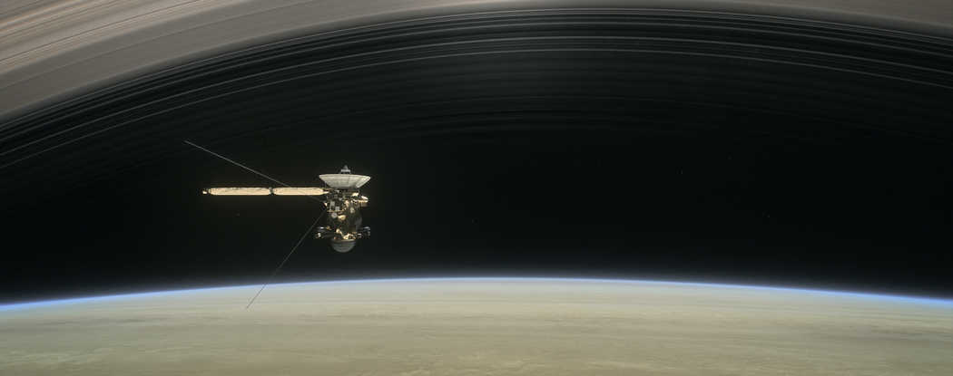 Press Release-SwRI scientists study Saturn's rings to discover downpour