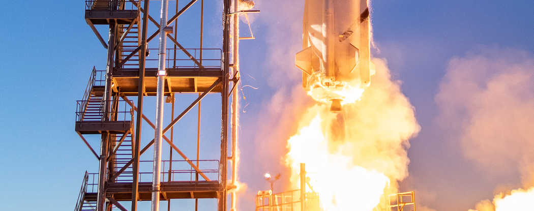 Press Release-SwRI tests fuel delivery device on Blue Origin's New Shepard vehicle