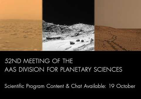 Go to 52nd Annual Meeting of The Division of Planetary Sciences event