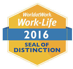 Work-Life 2016 Seal of Distinction