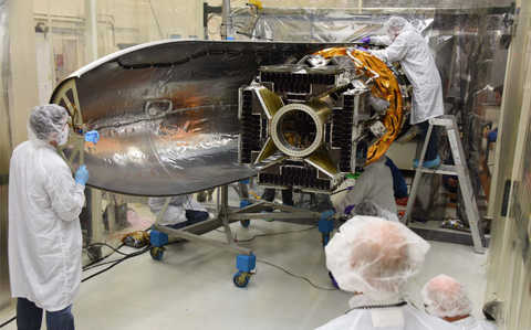 CYGNSS micro-satellite