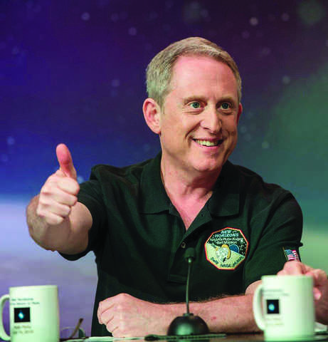 Portrait of Dr. Alan Stern, associate vice president of the Space Science and Engineering Division