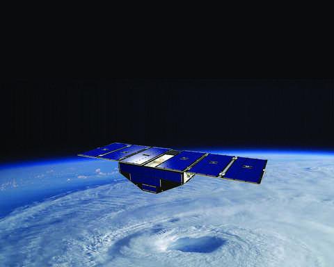 SwRI-built CYGNSS satellites
