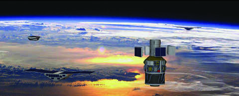 Southwest Research Institute-built Cyclone Global Navigation Satellite System