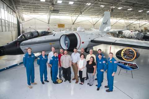 The flight crew, some ground support personnel, and the principal investigator for the SwRI-led eclipse project
