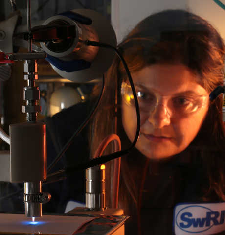 Dr. Vicky Poenitzsch led the development of High Power Impulse Plasma Source technology