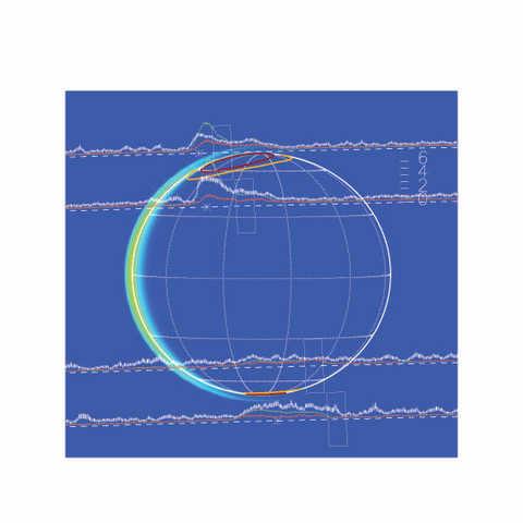 Jovian auroral electron energy figure