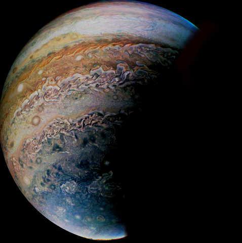 Jupiter's outer atmosphere