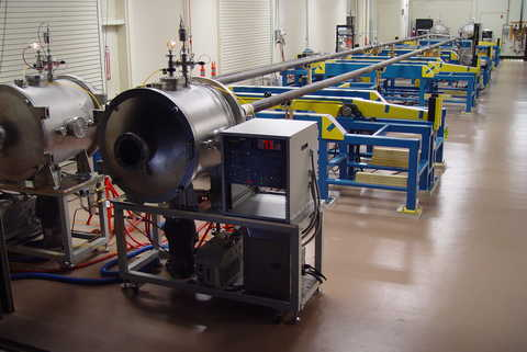 LotusFlo application facility in a large industrial room