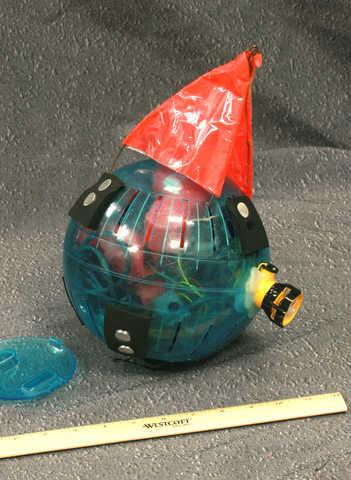 neutrally buoyant sensor