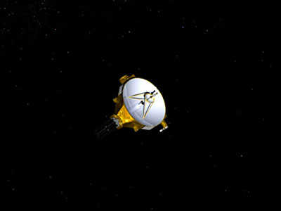 Artist's impression of NASA's New Horizons spacecraft