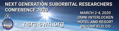 NSRC promotional graphic showing logo and Earth in the background