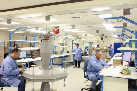 The SwRI Probay facility lab configuration