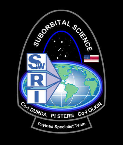 suborbital project mission patch art