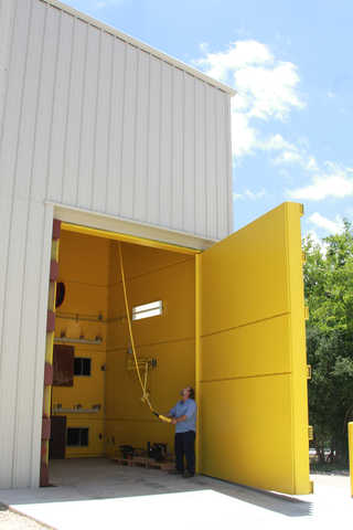 The newly completed Flow Component Test Cell