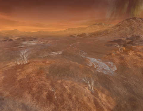 Using Cassini spacecraft data, Southwest Research Institute scientists are studying the atmosphere of Titan