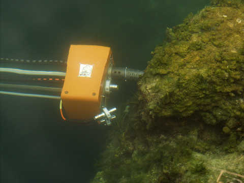 DEPTHX telescoping probe arm